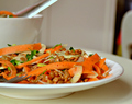 Lentil, Carrot & Fennel Salad