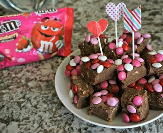 Comment on No-Bake Candy Cookie Fudge for Valentine's Day + Video Recipe by Lisa Mothersead