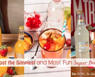 Super Simple Super Bowl Sunday Drinks + Party Hack