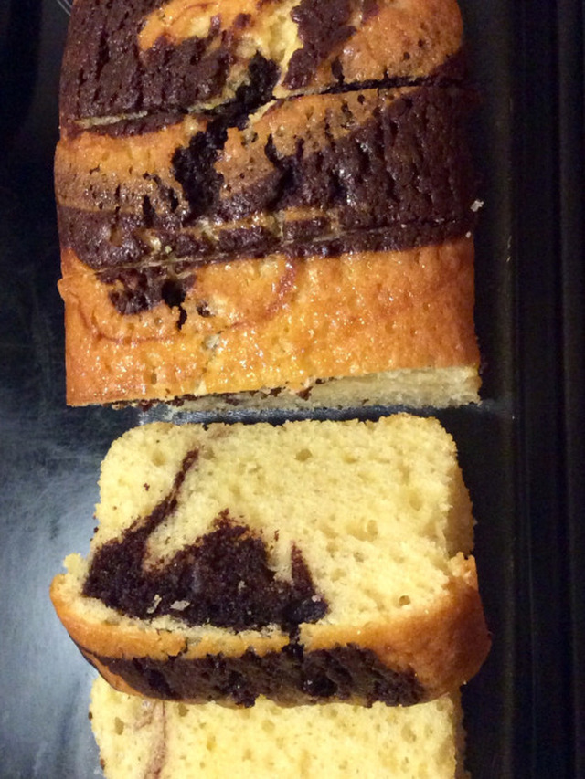 Chocolate Orange Marble Cake   Ingredients * 250gr/8.8oz ...