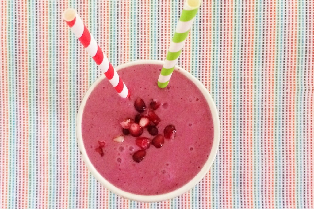 Pomegranate Power Smoothie
