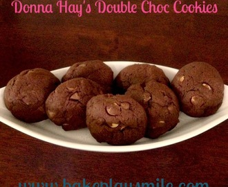 The Best Ever Double Choc Cookies!
