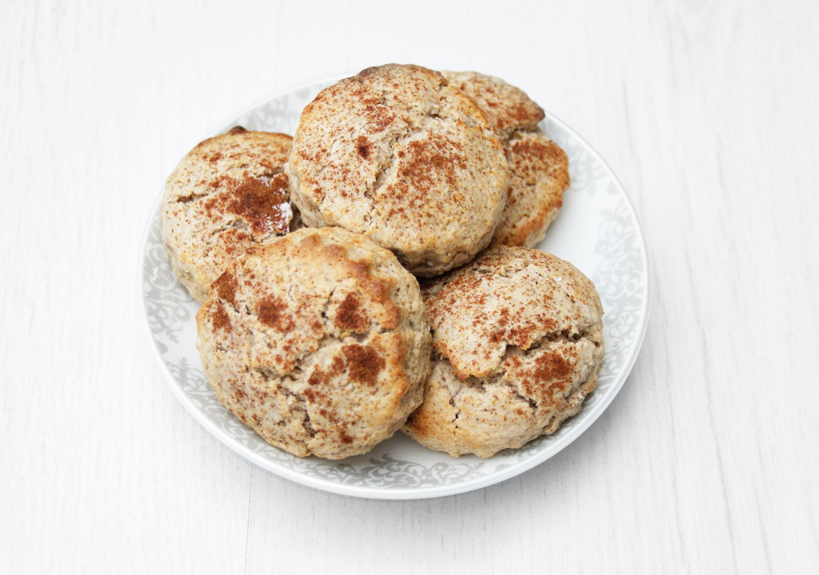 Simple Christmas Cinnamon Scones