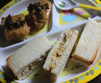 Boiled Egg Finger Sandwich Recipe - Kids & Toddler Recipes