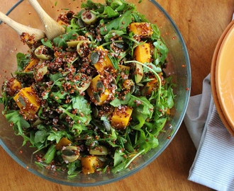 Moroccan Roasted Pumpkin and Quinoa Salad