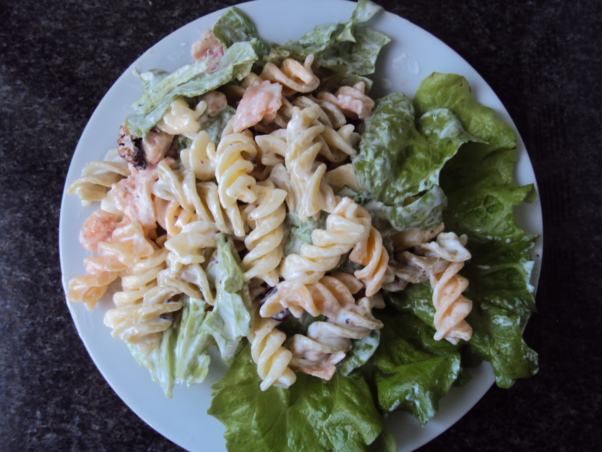 Onda Pasta and Salmon Salad