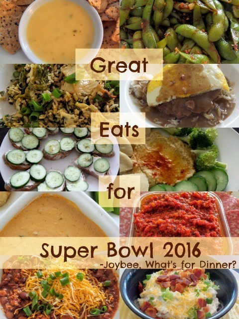 Great Eats for Super Bowl 2016