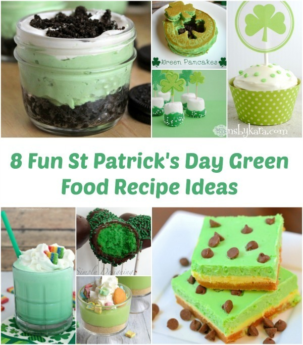 8 Fun St Patrick's Day Green Food Recipe Ideas