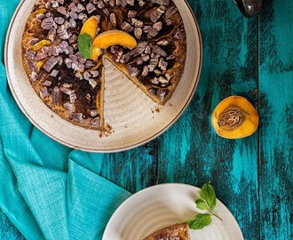 Peach and Pecan Coffee Cake