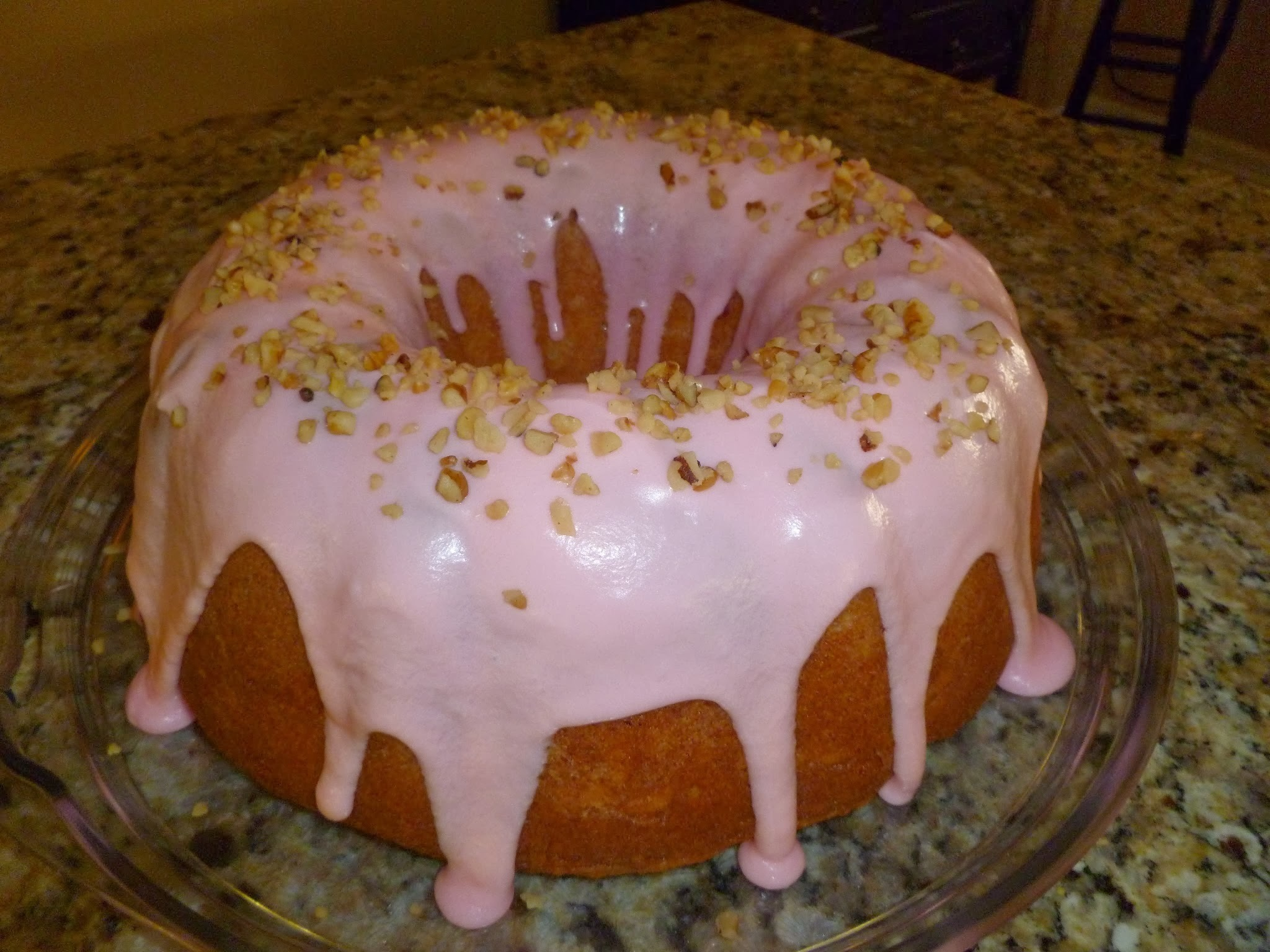 Mom's Butter Cake recipe!   Top it with her Butter Cream Icing and Coconut!