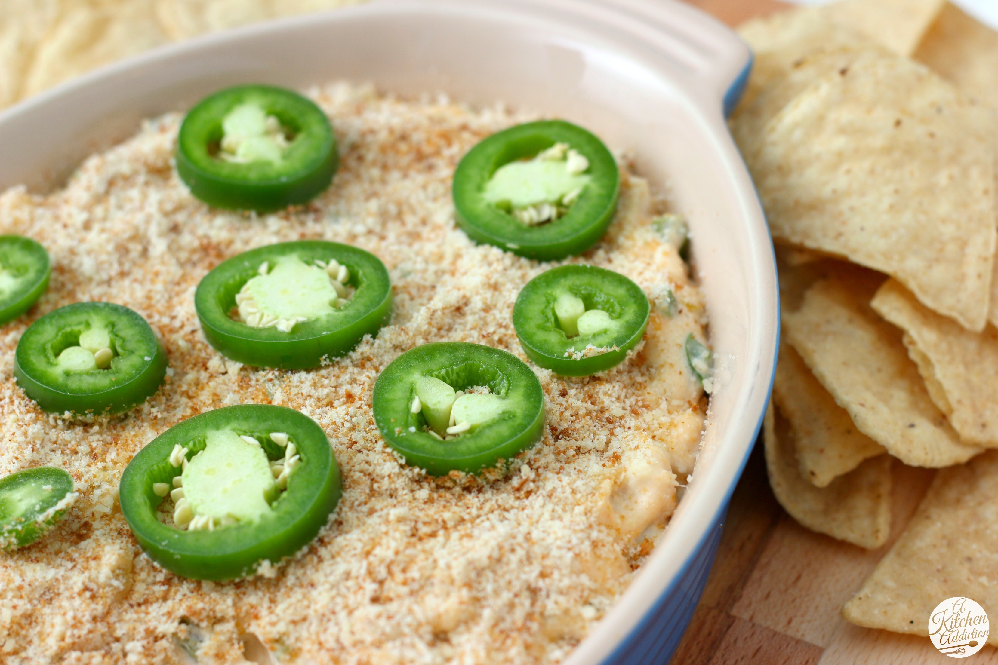 Slow Cooker Jalapeno Popper Chicken Dip