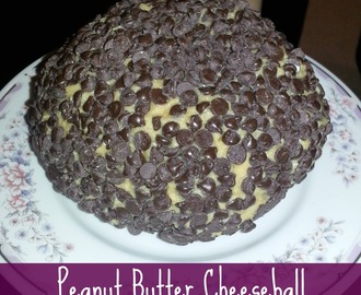 Yummy Peanut Butter Cheeseball recipe