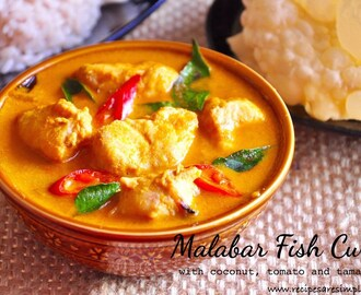 Malabar Fish Curry with Coconut Tamarind and Tomato