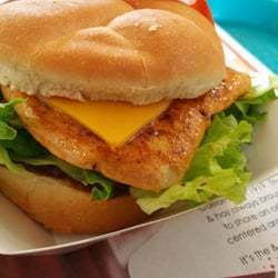 Deluxe Grilled Chicken Sandwich
