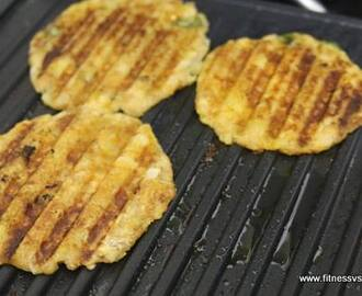 Cabbage Paneer Pancakes Recipe