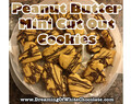 Peanut Butter Mini Cut-Out Cookies