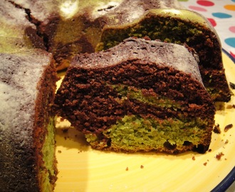 Green Tea Chocolate Bundt Cake