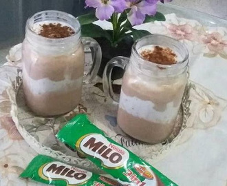 Resep Milo ice cream super segar