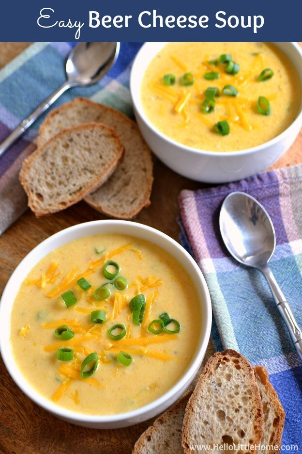 Easy Beer Cheese Soup