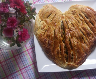 Turkey & Vegetables Pie - Valentine's Edition