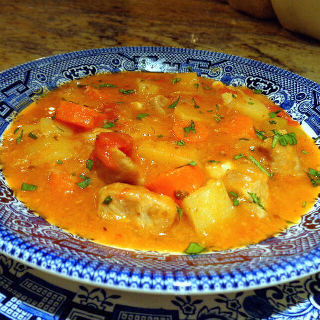 Amish-Style Pork and Vegetable Stew