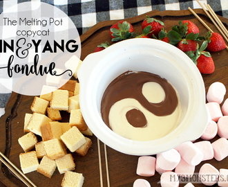 Yin & Yang Fondue The Melting Pot Copy Cat Recipe