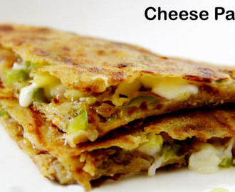 Cheese Paratha | How to Make Cheese Paratha