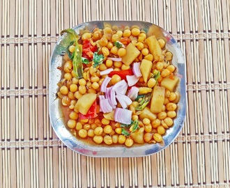 Bengali Ghugni - Dried yellow peas curry