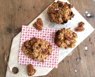 Happy havermout koekjes appel-pecan