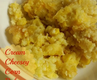 Cream Cheesey Corn Bake (Crockpot or Oven Options)