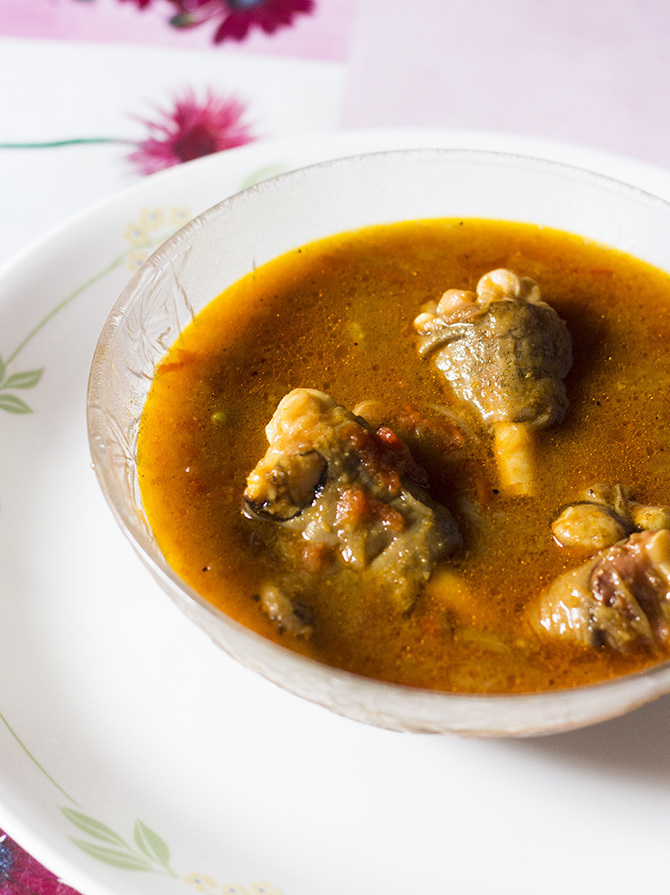 Mutton Paya Soup Recipe, How to make Paya Shorba