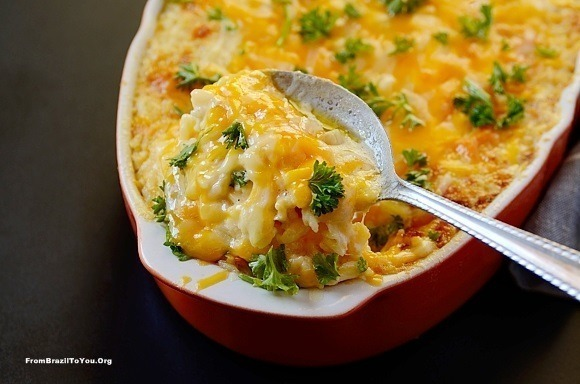 Ham and Cheese Baked Rice (Arroz de Forno Misto)