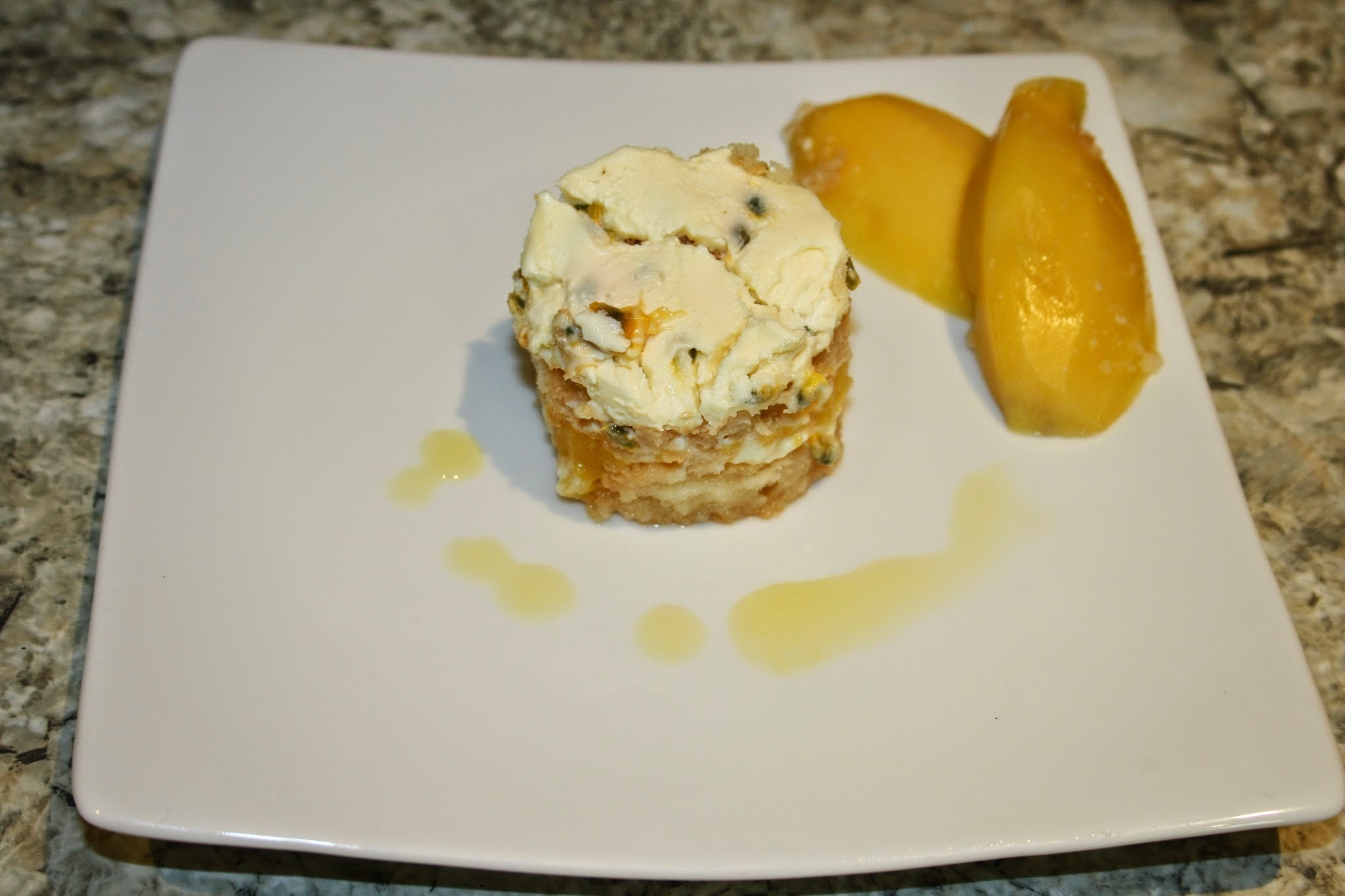 Mango and Passionfruit Tiramisu