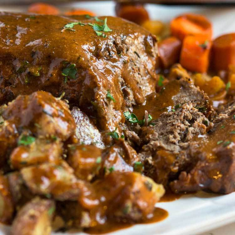 Savory Slow Cooker Pot Roast