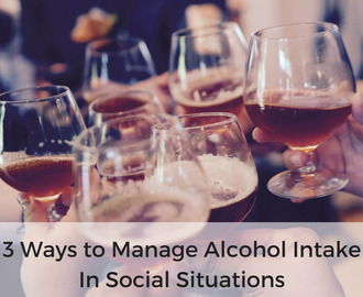 3 Ways to Manage Alcohol Intake in Social Situations