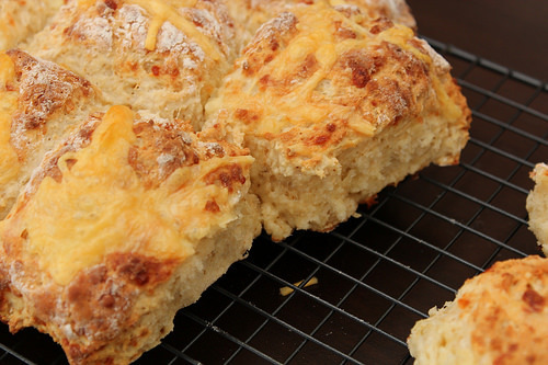 Easy Cheese Scones