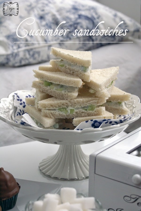 Downton Abbey Cucumber sandwiches / Kumaricni sendvici