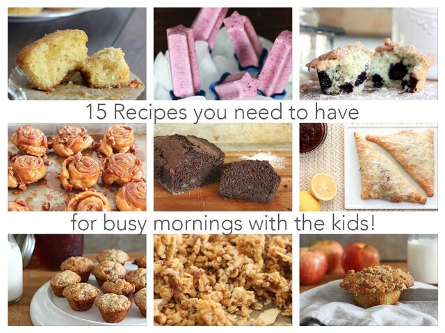 15 Breakfast Recipes to Make Your Mornings Easier!