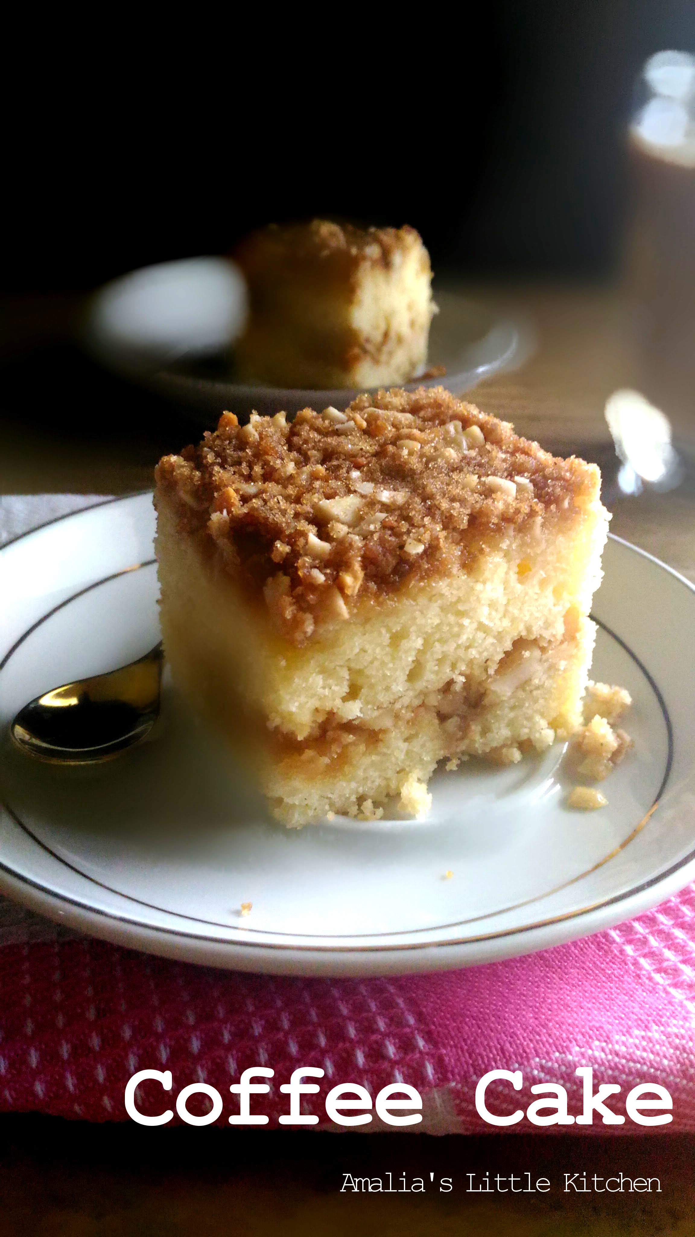 Coffee Cake (Sour Cream vs Yogurt)