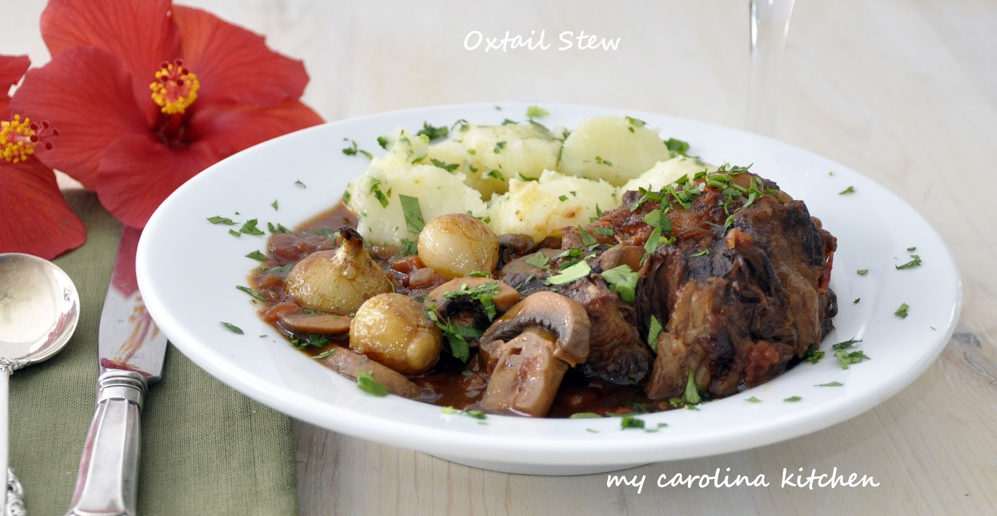 Braised Oxtail Stew