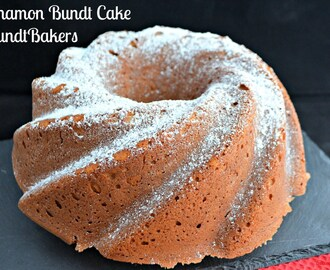Cinnamon Bundt Cake #BundtBakers