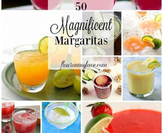 50 Magnificent Margarita Recipes #NationalMargaritaDay