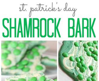 St. Patrick's Day Shamrock Bark Recipe