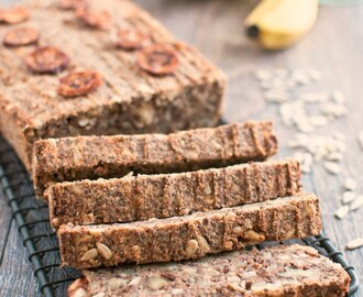 Banana Nut and Seed Bread (Grain Free, GF, Vegan)