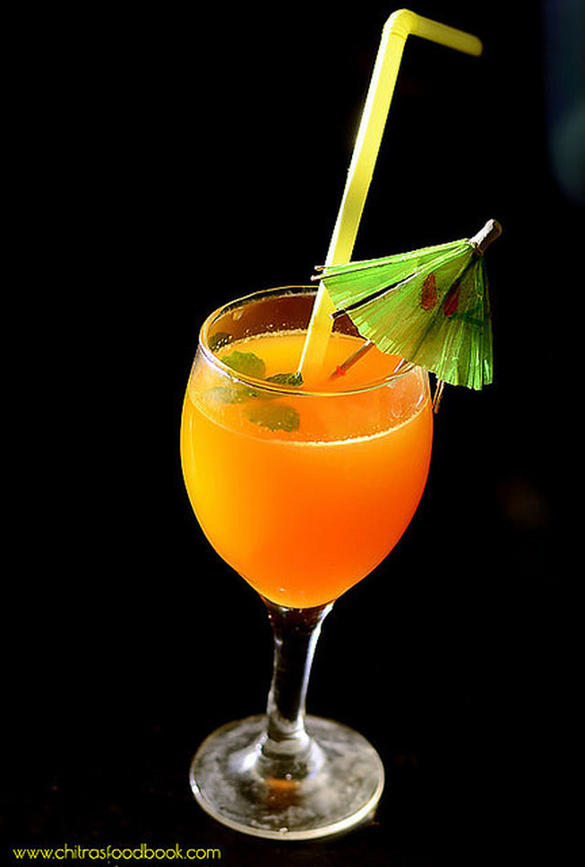 Orange Mocktail Recipe – Summer Drinks Recipes