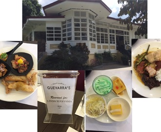 Chef Laudico's Guevarra's : A Little History, A Huge Meal Spread