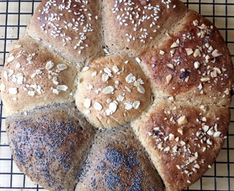 GLUTEN FREE DINNER ROLLS - WITH OAT, BUCKWHEAT, TEFF, OR HAZELNUTS