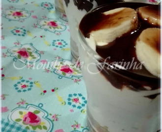 Cheesecake com leite condensado de chocolate