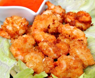 Camaron Rebosado (Citrus Battered Shrimp / Filipino Shrimp Tempura)