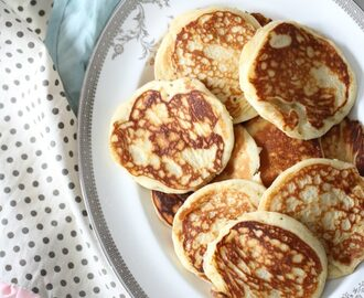 NORWEGIAN LAPPER ( FLUFFY MINI PANCAKES)